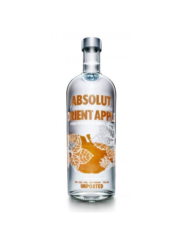 VODKA ABSOLUT ORIENT APPLE 1 L. - Vodka de Suecia