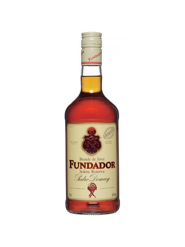FUNDADOR 0.70 L. - Brandy de Solera
