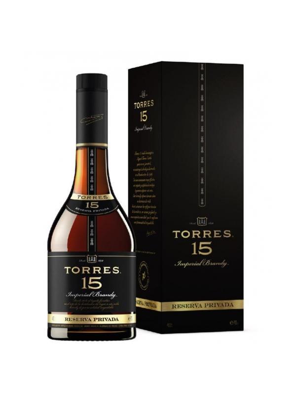 TORRES 15 AÑOS RESERVA PRIVADA 0.70 L. - Brandy de Solera