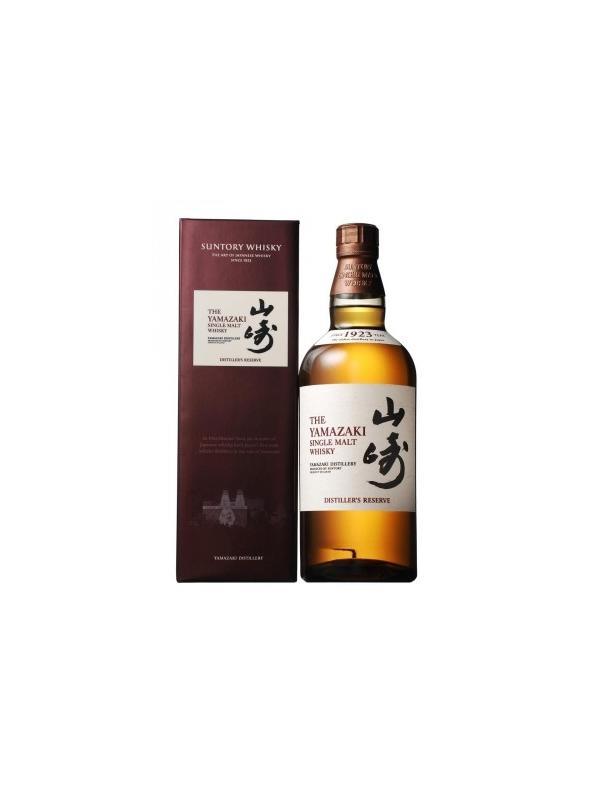 SUNTORY YAMAZAKI DIST. RESERVE 0.70 L. - Whisky de Japón