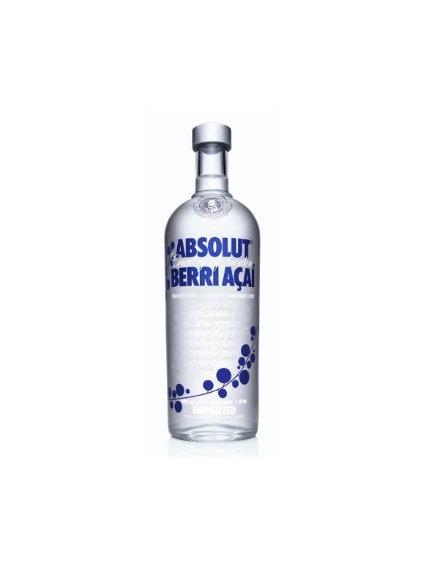 VODKA ABSOLUT BERRI ACAI 1 L. - Vodka