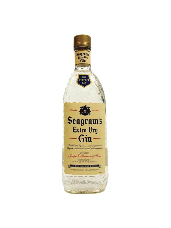 GIN SEAGRAM´S  EXTRA DRY 0,70 L.