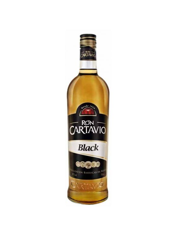 RON CARTAVIO BLACK 0.70 L. - Ron de Jamaica