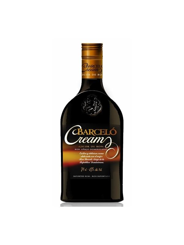 RON BARCELO CREAM LICOR DE RON 0,70 L. - Crema de Ron