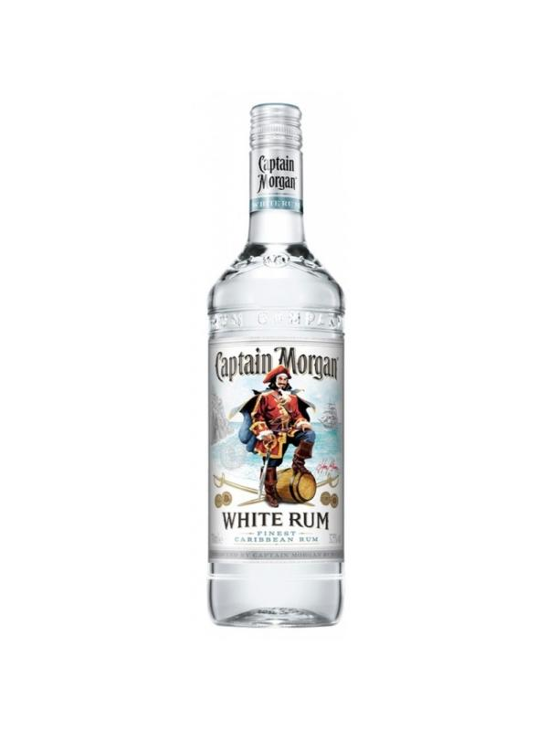 CAPTAIN MORGAN WHITE RUM 1 L. - Ron de Jamaica