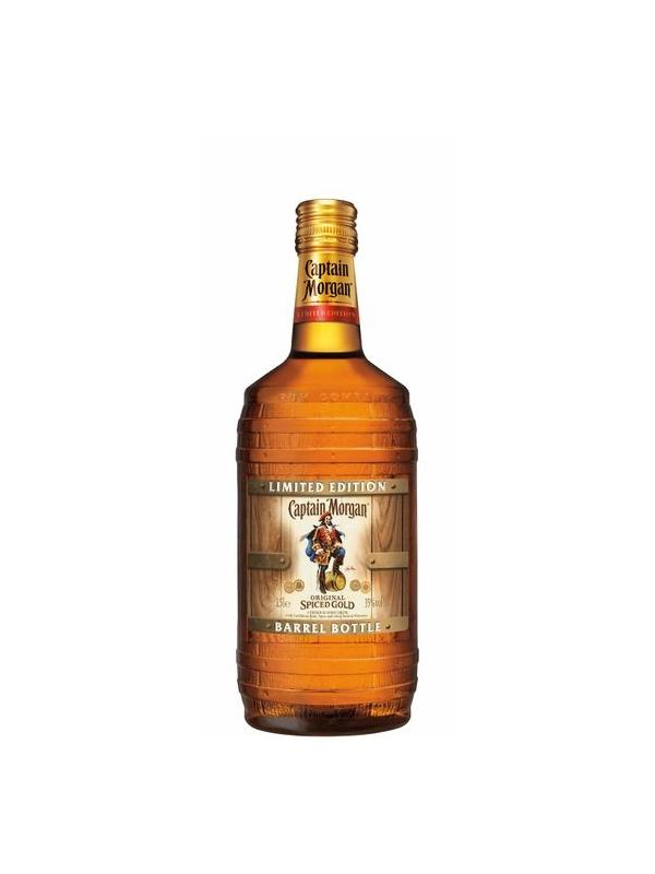 RON CAPTAIN MORGAN SPICED BARREL BOTTLE 1,5 L. - Ron de Jamaica