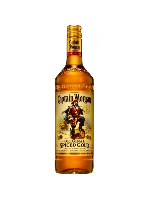 CAPTAIN MORGAN SPICED GOLD 0.70 L. - Ron de Jamaica
