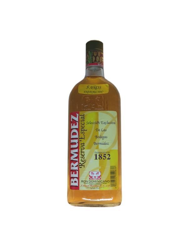 RON BERMUDEZ RESERVA 5 AÑOS 0,70 L. - Ron de la República Dominicana