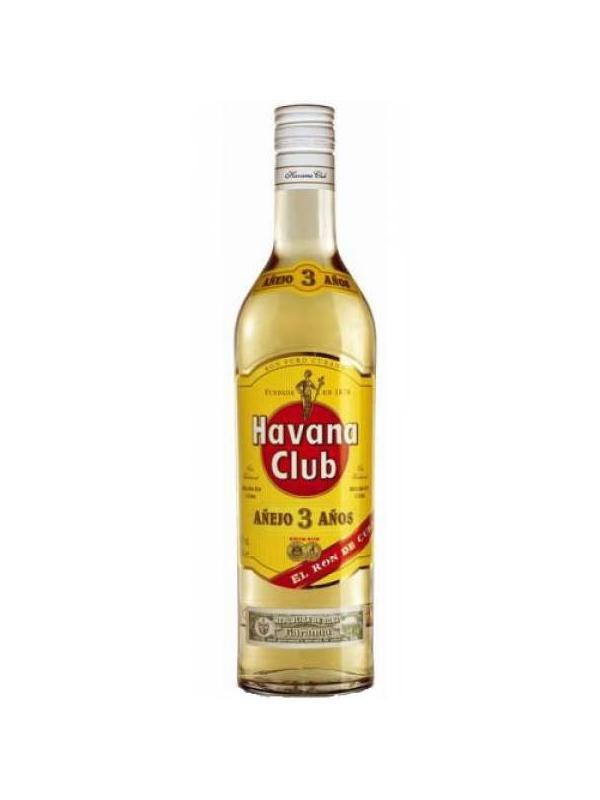 RON HAVANA CLUB 3 AÑOS 0,70 L. - Ron de Cuba