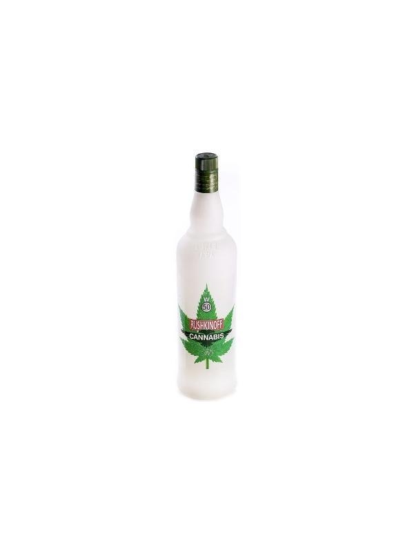 VODKA RUSHKINOFF CANNABIS 1 L. 50º - Vodka