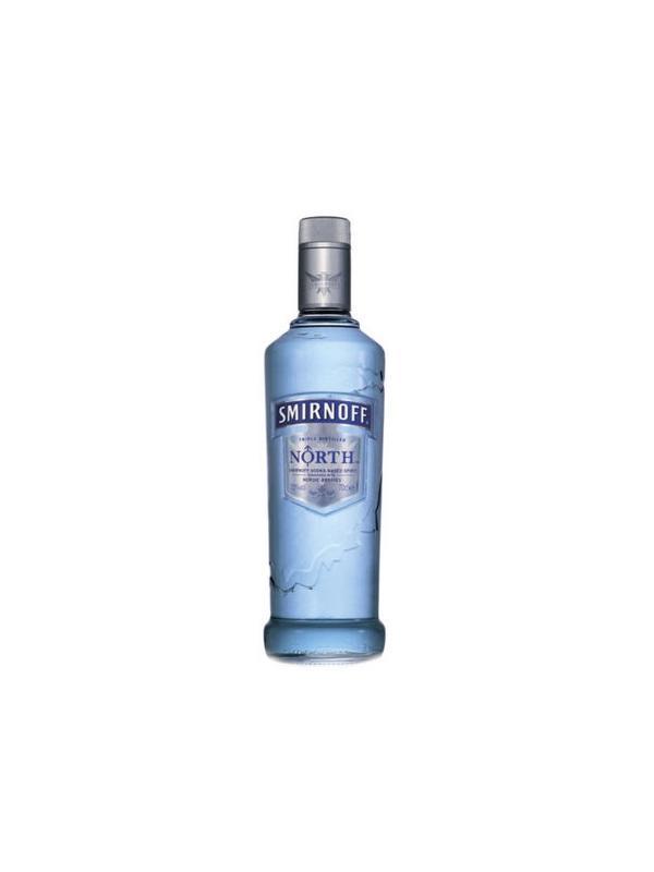 VODKA SMIRNOFF NORTH NORDIC BERRIES 0,70 L. - Vodka