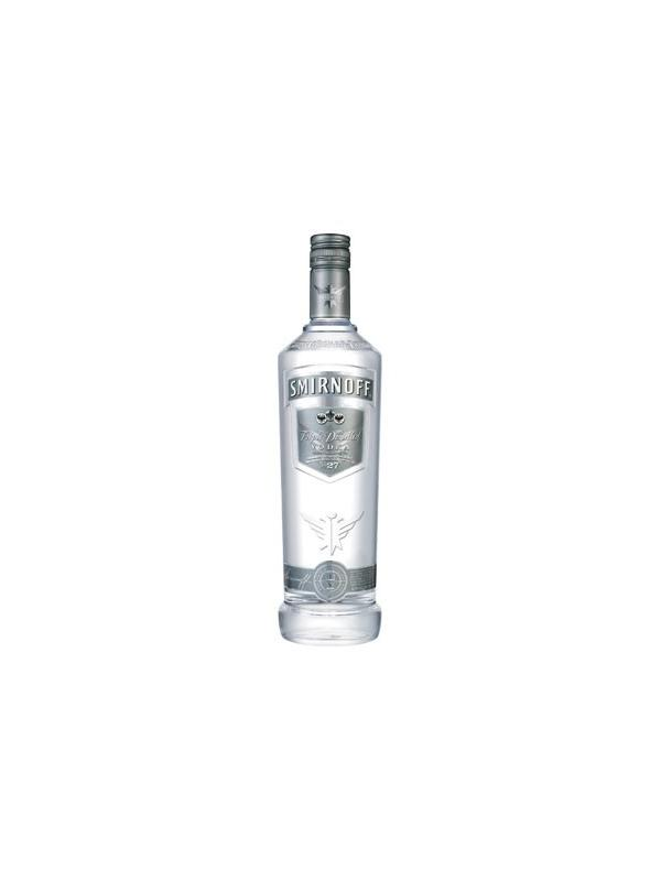 VODKA SMIRNOFF TRIPLE DISTILLED SILVER 1 L. - Vodka