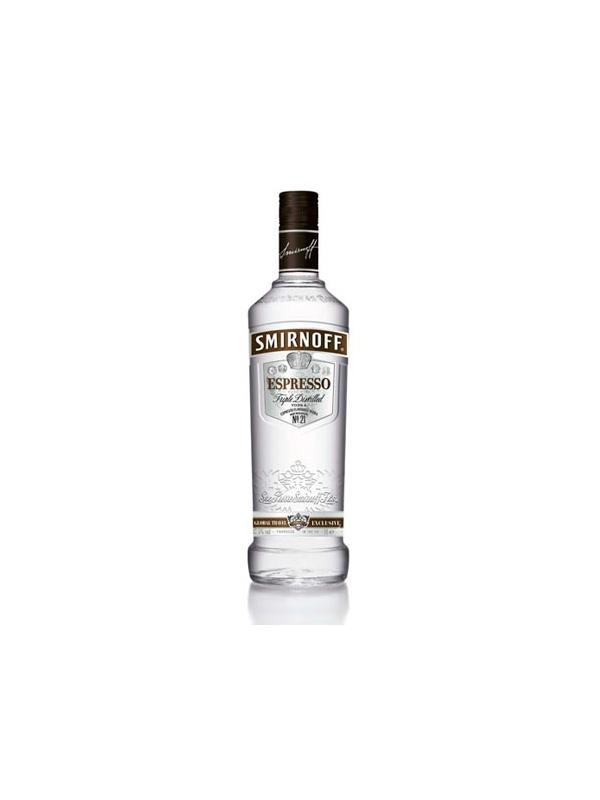 VODKA SMIRNOFF ESPRESSO COFFE 1 L. - Vodka con cafe