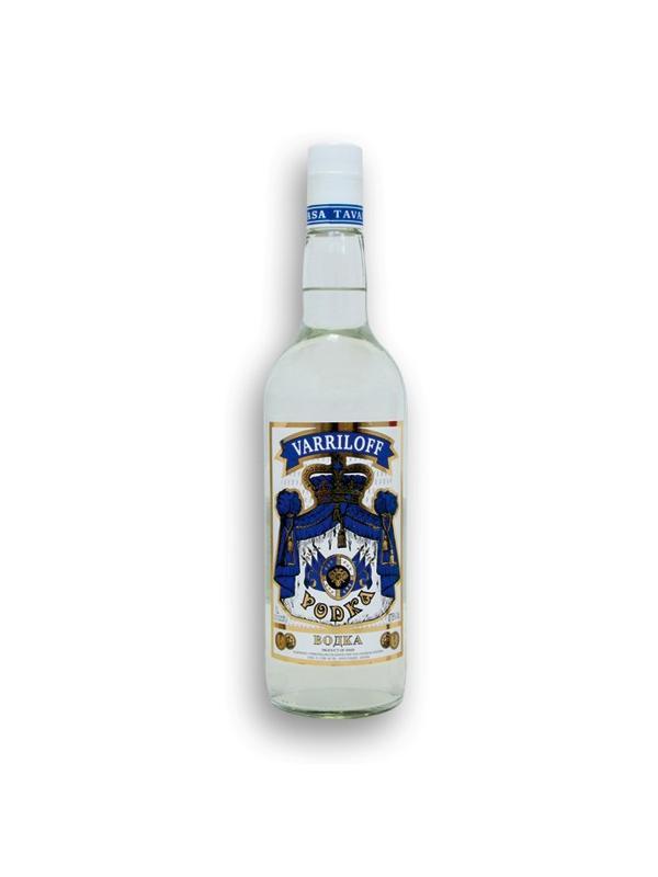 VODKA VARRILOFF 1 L. - Vodka