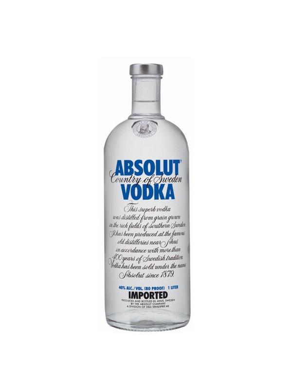 VODKA ABSOLUT 1 L. - Vodka