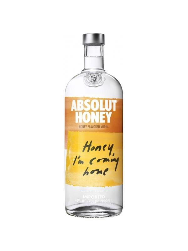 VODKA ABSOLUT HONEY 1 L. - Vodka de Suecia