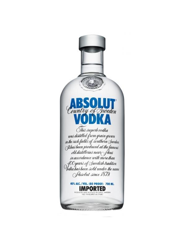 VODKA ABSOLUT 0,70 L. - Vodka de Suecia