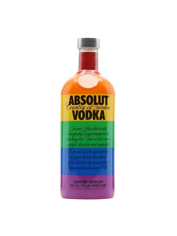 VODKA ABSOLUT COLORS 1 L. - Vodka de Suecia