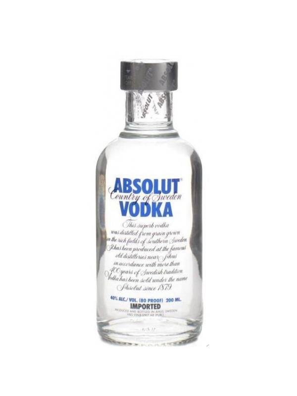 VODKA ABSOLUT 0.20L. - Vodka