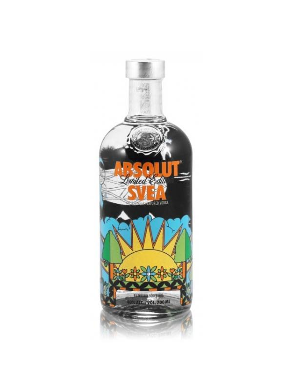 VODKA ABSOLUT SVEA APPLE GINGER 0.70 L.