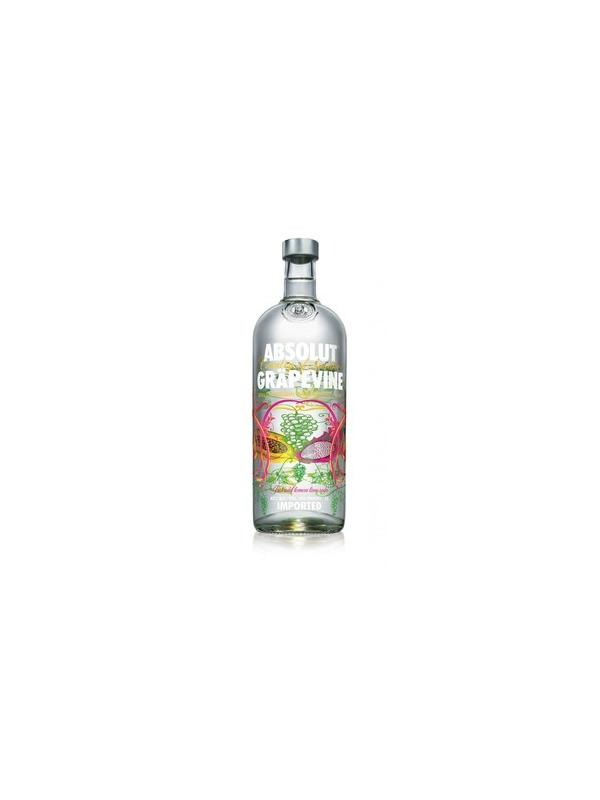 VODKA ABSOLUT GRAPEVINE 1L. - Vodka