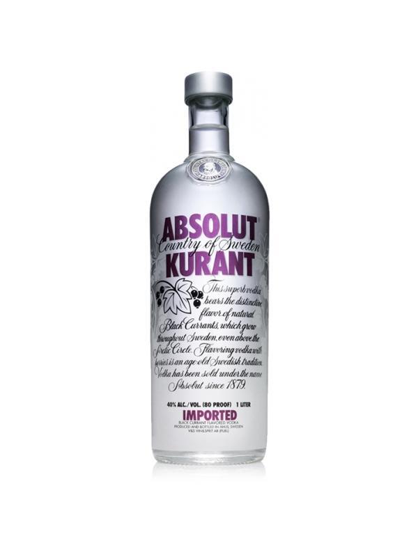 VODKA ABSOLUT KURANT 0,70 L. - Vodka