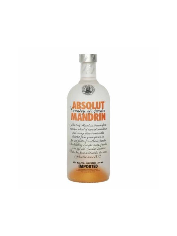 VODKA ABSOLUT MANDRIN 0.70L. - Vodka