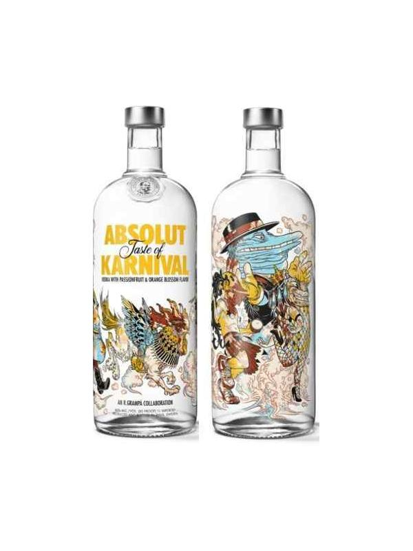 VODKA ABSOLUT KARNIVAL 1 L. - Vodka
