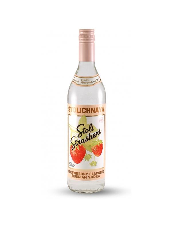 VODKA STOLICHNAYA STRASBERI (FRESA) 1L. - Vodka