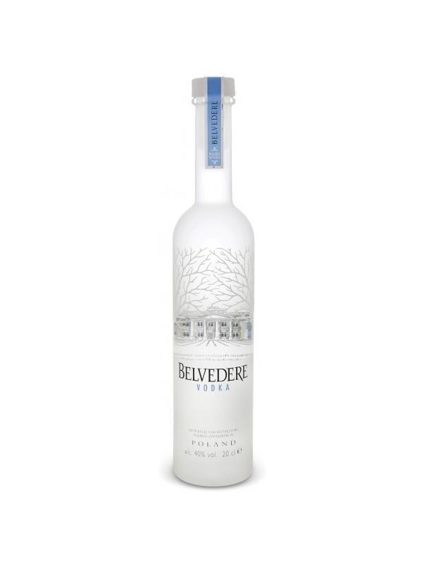 VODKA BELVEDERE PETACA 0.20L. - Vodka