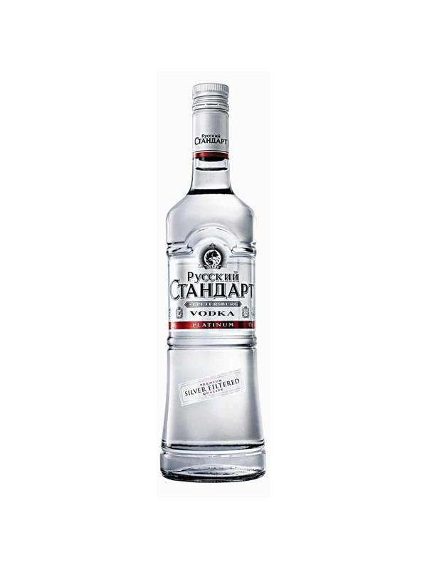 VODKA RUSSIAN STANDARD PLATINUM 1 L. - Vodka