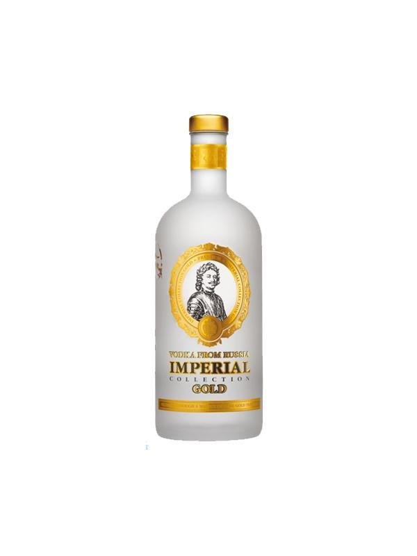 VODKA IMPERIAL GOLD FROM RUSSIA 0.70 L. - Vodka