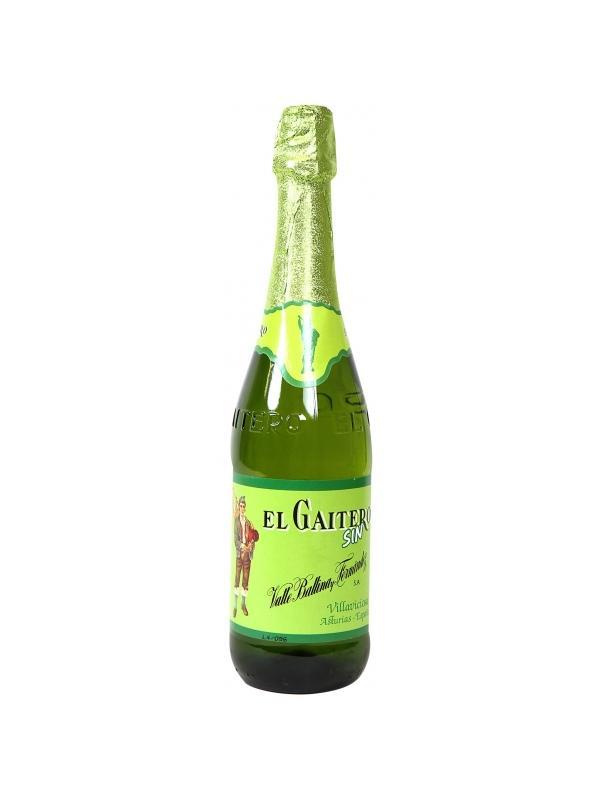 SIDRA EL GAITERO SIN ALCOHOL 0.70 L. - Sidra Irlandesa
