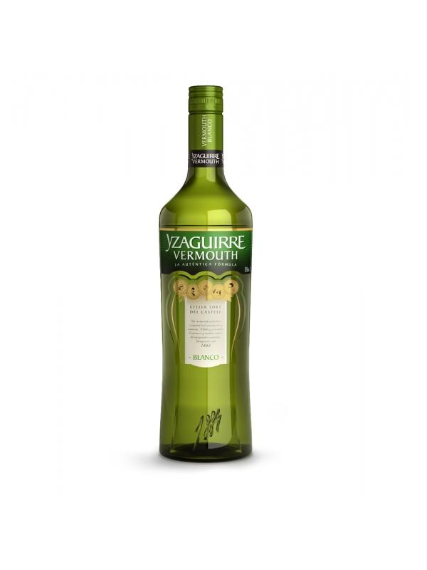 VERMUT YZAGUIRRE BLANCO 1 L. - Vermouth