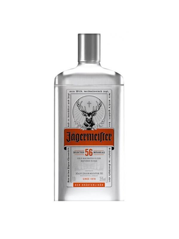 JAGERMEISTER SILVER TIN 1 L. - Aperitivo
