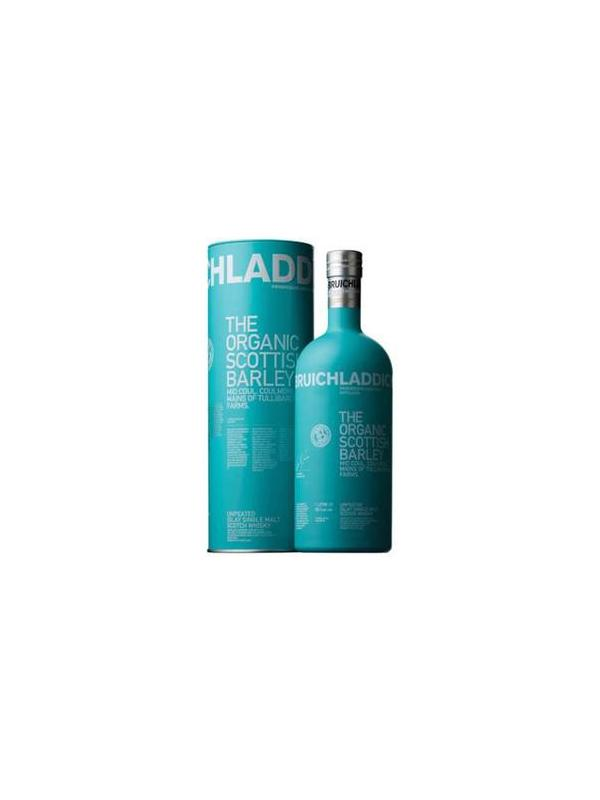 BRUICHLADDICH ORGANIC SCOTTISH BARLEY 1 L. - Malt Whisky