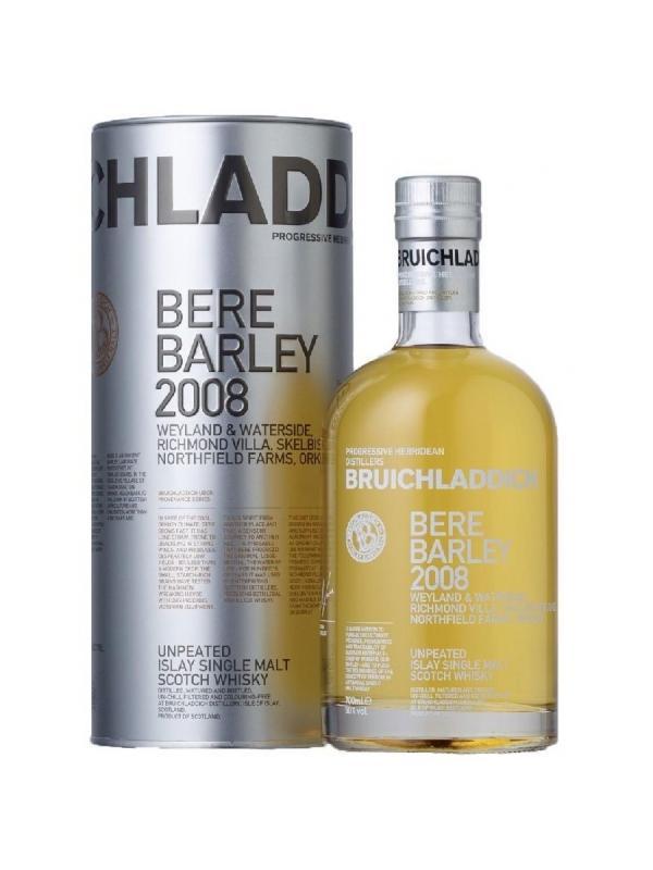 BRUICHLADDICH BERE BARLEY 2008 0.70 L. - Malt Whisky