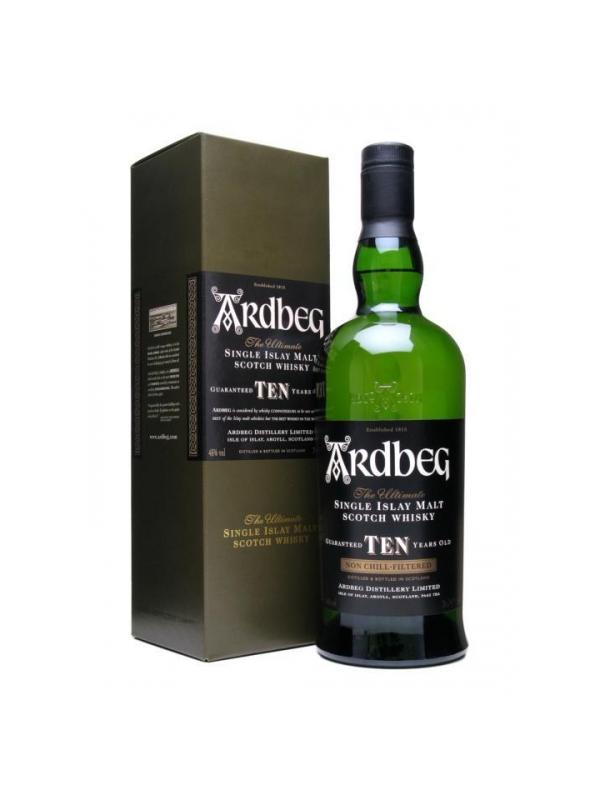 ARDBEG ISLAY MALT 10 AÑOS 0,70 L. - Malt Whisky