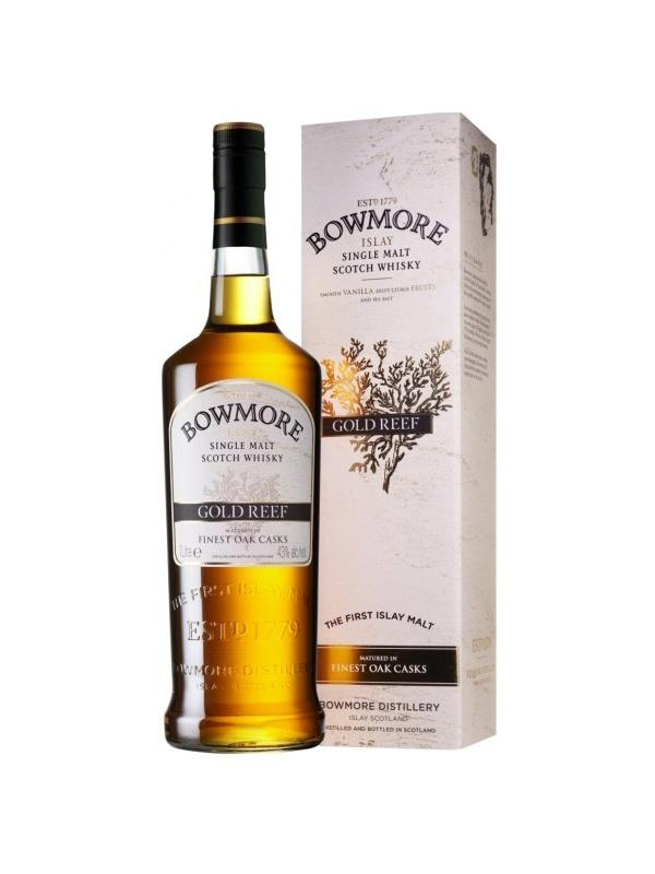 BOWMORE GOLD REEF 1 L. - Malt Whisky