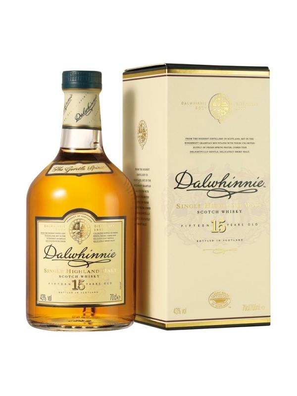DALWHINNIE 15 AÑOS 0,70 L. - Malt Whisky