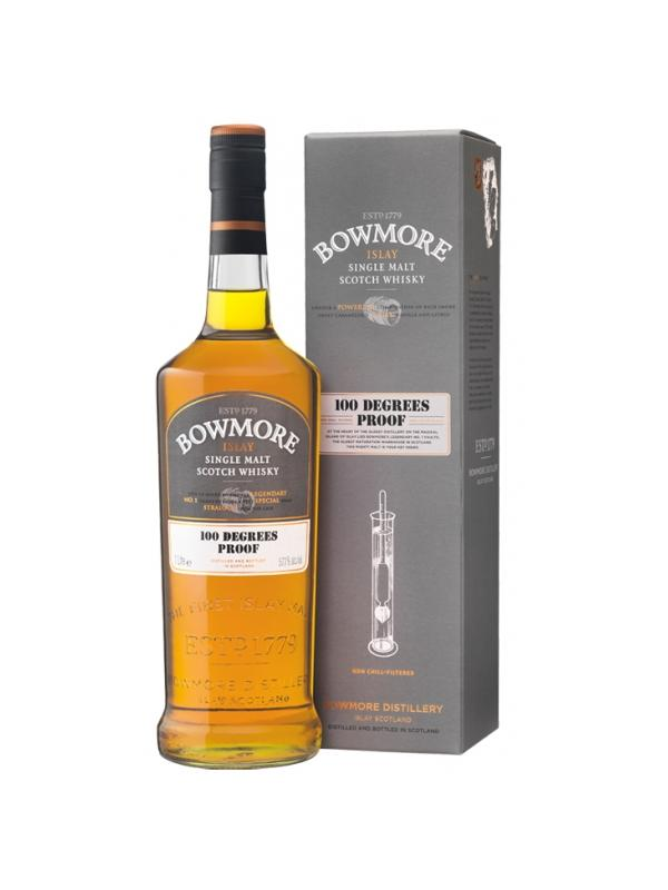 BOWMORE 100% DEGREES PROOF 57.1º 1L. - Islay Malt Whisky