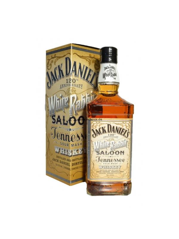 JACK DANIELS WHITE RABBIT SALOON 0.70 L. - Tennessee whiskey