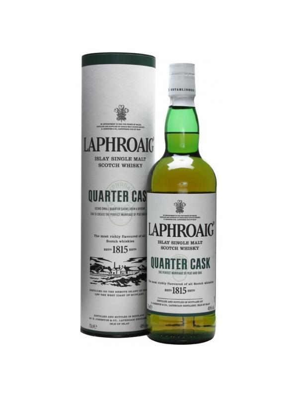 LAPHROAIG QUARTER CASK 48º 0,70 L. - Malt Whisky
