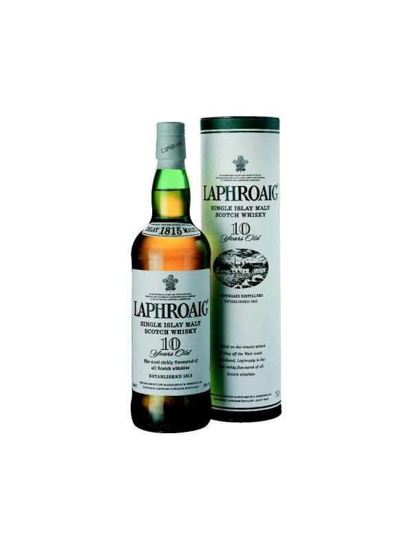 LAPHROAIG ISLAY MALT 10 AÑOS 0,70 L. - Malt Whisky