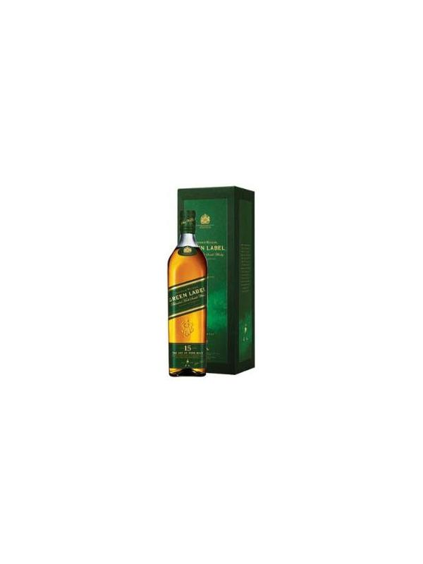JOHNNIE WALKER MALT 15 AÑOS GREEN LABEL MALT 0,70 L. - Malt Whisky