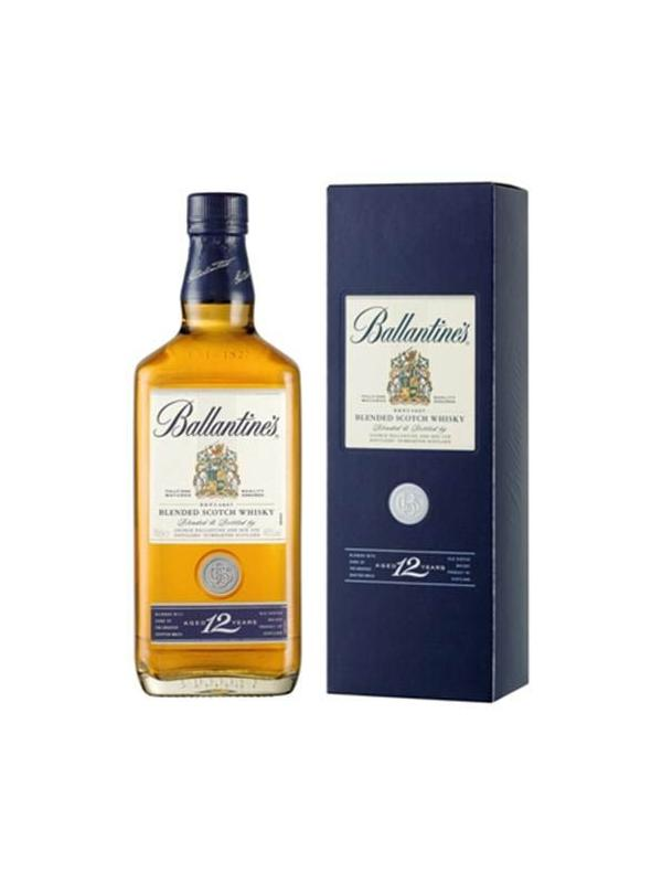 BALLANTINES BLUE 12 AÑOS 0,70 L. - Scotch Whisky