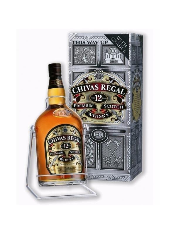 CHIVAS REGAL 12 AÑOS 4,5 L. - Scotch Whisky