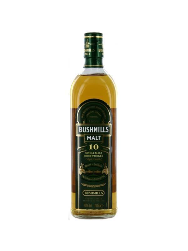 BUSHMILLS MALT 10 YEARS 0,70 L. - Irish Whisky