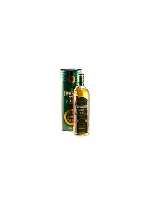 BUSHMILLS MALT 10 AÑOS 1 L. - Irish Whisky