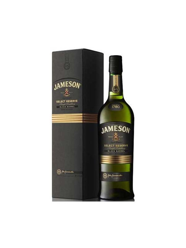 JAMESON SELECT RESEVE BLACK BARREL 0.70 L. - Irish Whisky